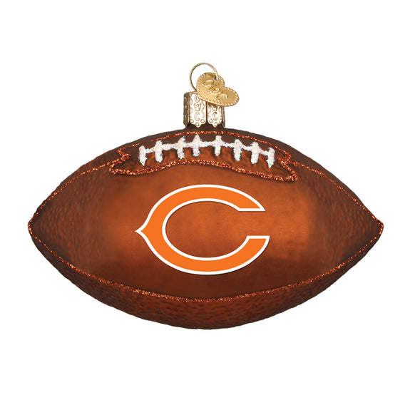 Chicago Bears Football Ornament for Christmas Tree