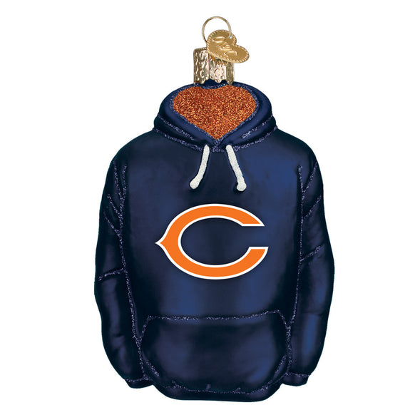Chicago Bears Hoodie Ornament for Christmas Tree
