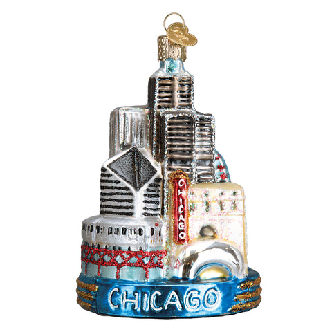 Chicago Ornament for Christmas Tree