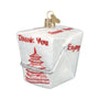 Chinese Take Out Ornament for Christmas Tree