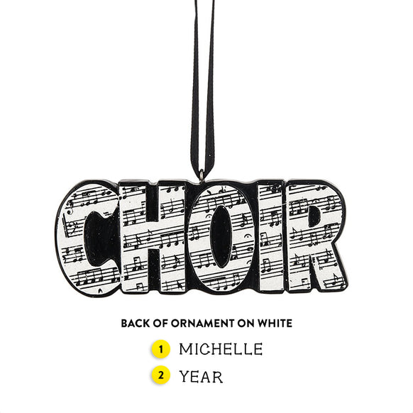 Choir Ornament
