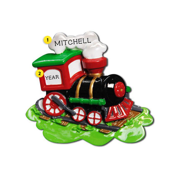Choo Choo Train Ornament for Christmas Tree