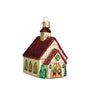 Christmas Chapel Ornament for Christmas Tree