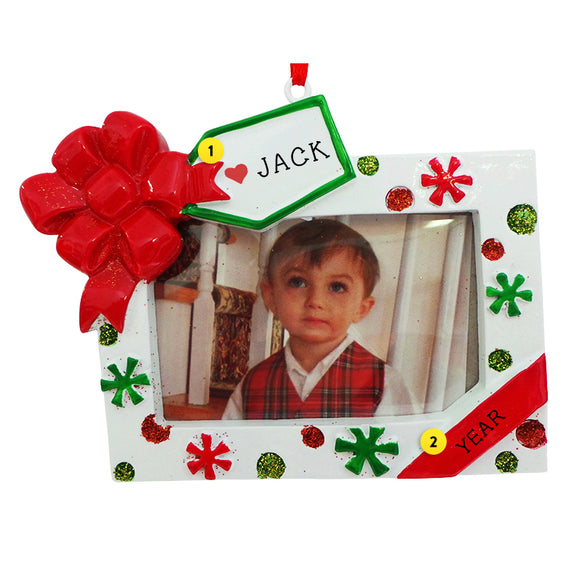 Christmas Picture Frame Ornament