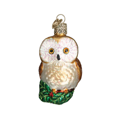 Christmas Owl Ornament for Christmas Tree