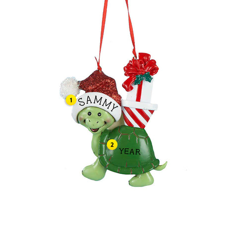 Christmas Turtle Ornament for Christmas Tree