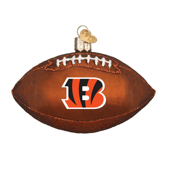 Cincinnati Bengals Football Ornament for Christmas Tree