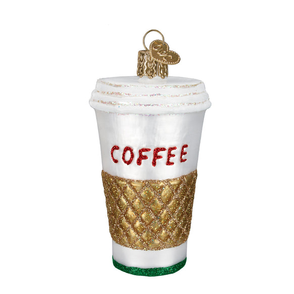 Coffee To Go Ornament for Christmas Tree
