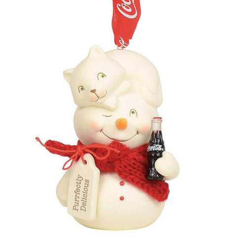 Perfectly Delicious Coke Snowpinions Ornament