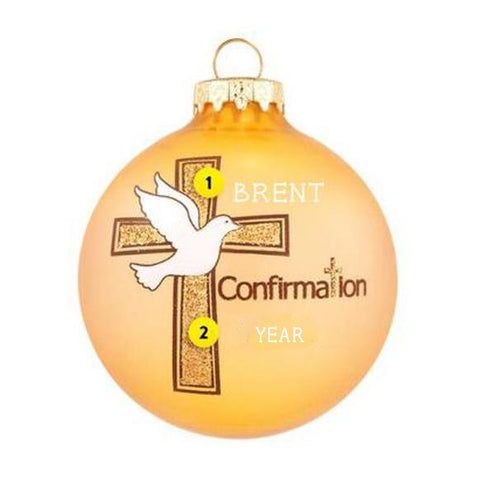 Confirmation Christmas Tree Ornament