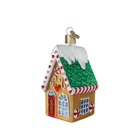 Cookie Cottage Ornament for Christmas Tree