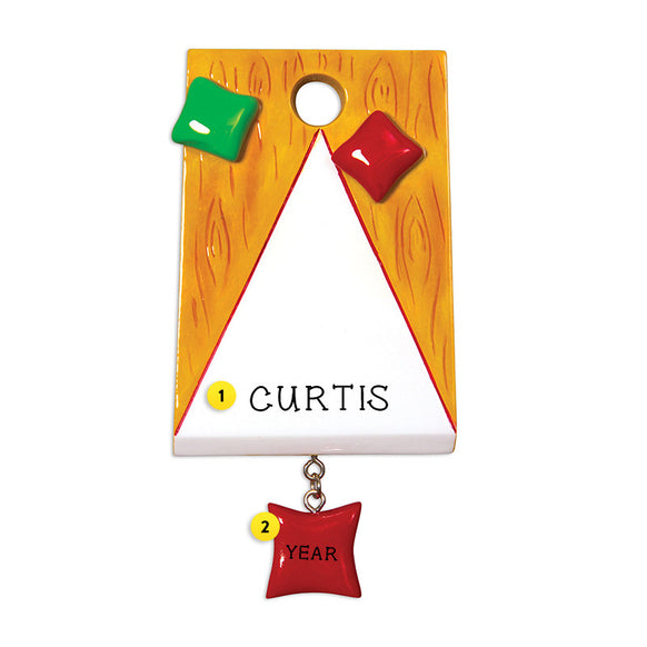 Corn Hole Bag Toss Game for Christmas Tree