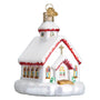 Country Church Ornament for Christmas Tree