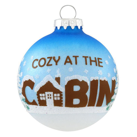 Cozy at the Cabin Ornament for Christmas Tree