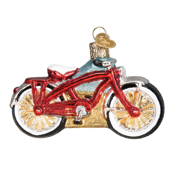 Cruiser Bike Ornament for Christmas Tree