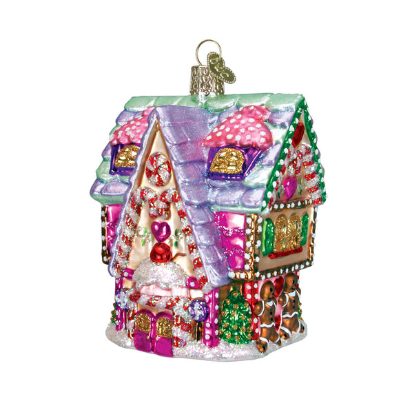 Cupcake Cottage Ornament for Christmas Tree