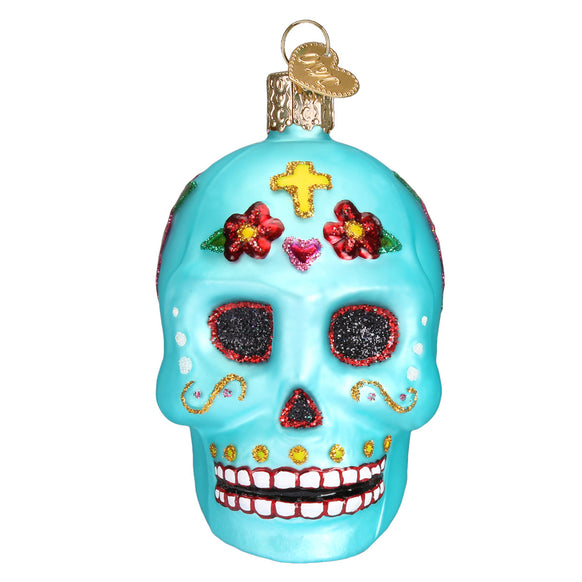 Day of the Dead Ornament for Christmas Tree