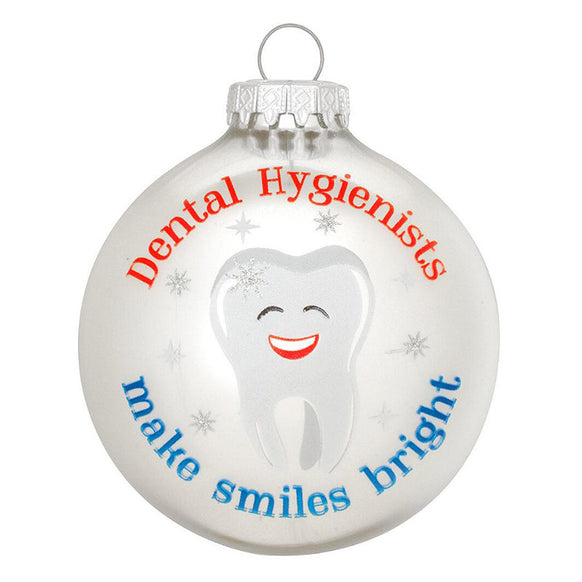 Dental Hygienist Ornament for Christmas Tree