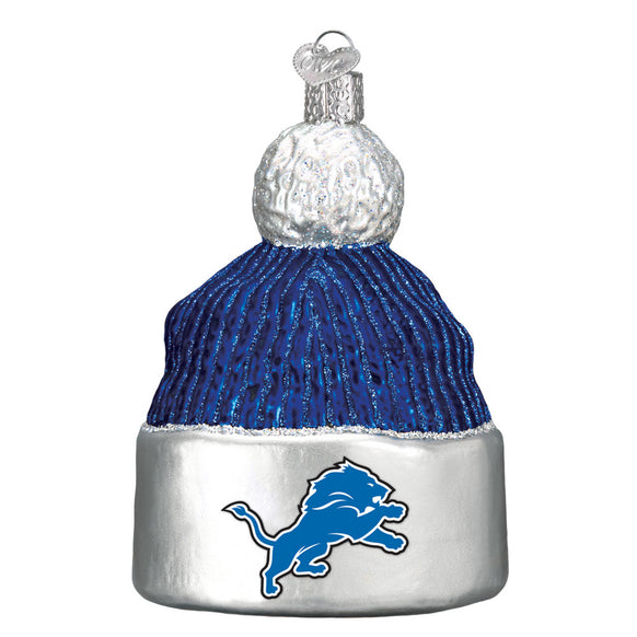 Detroit Lions Beanie Ornament for Christmas Tree