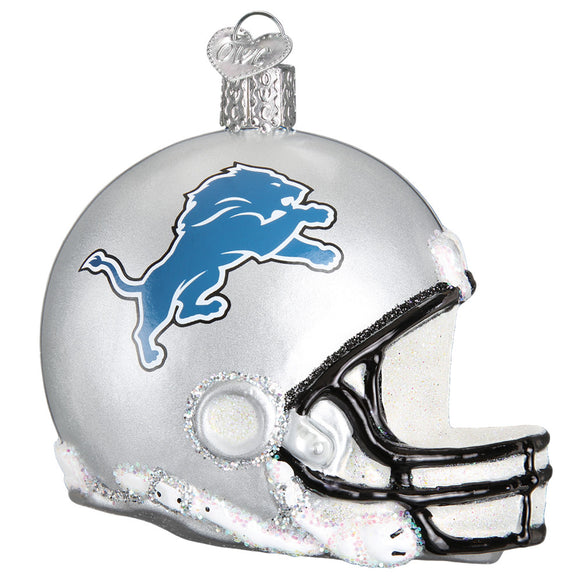 Detroit Lions Helmet Ornament for Christmas Tree