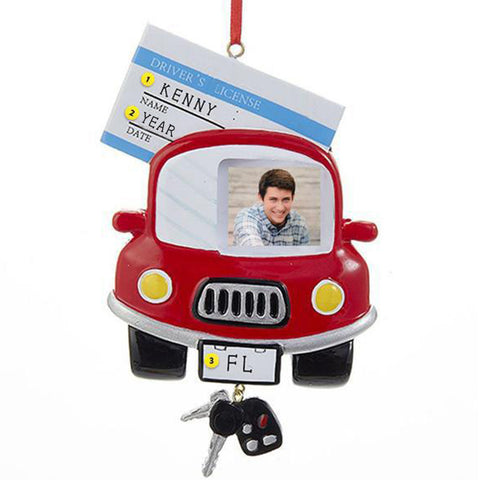 Driver's License Photo Frame Christmas Ornament