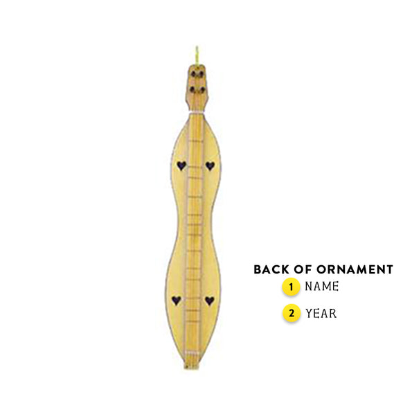 Dulcimer Ornament