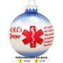 EMT's Prayer Ornament for Christmas Tree