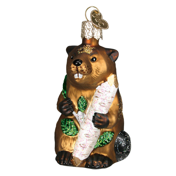 Eager Beaver Ornament for Christmas Tree
