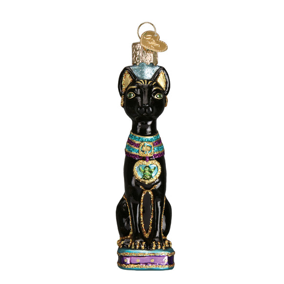 Egyptian Cat Ornament for Christmas Tree