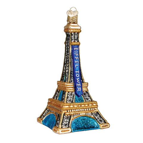 Eiffel Tower Ornament for Christmas Tree