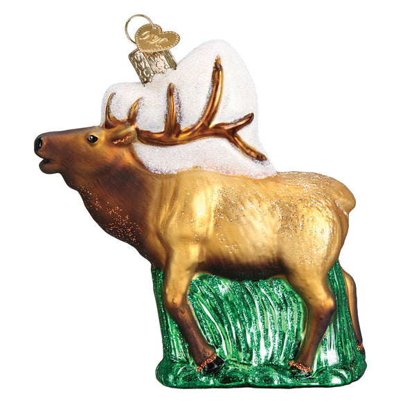 Elk Ornament for Christmas Tree
