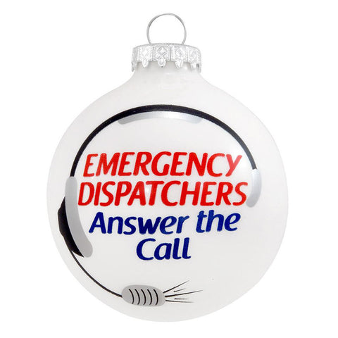 Emergency Dispatcher Ornament for Christmas Tree