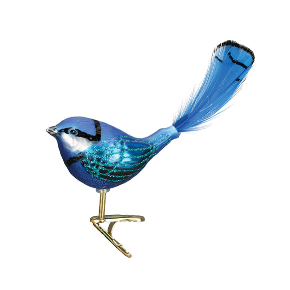 Fairy Wren Ornament for Christmas Tree