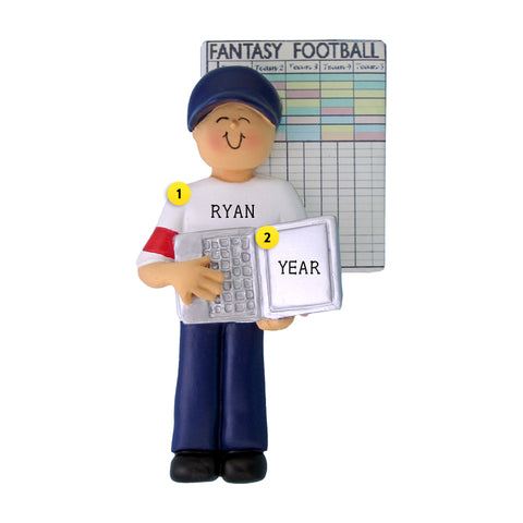 Fantasy Football Ornament