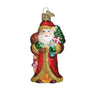 Father Christmas with Gifts Ornament for Christmas Tree