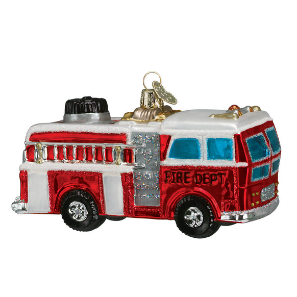 Fire Truck Ornament for Christmas Tree