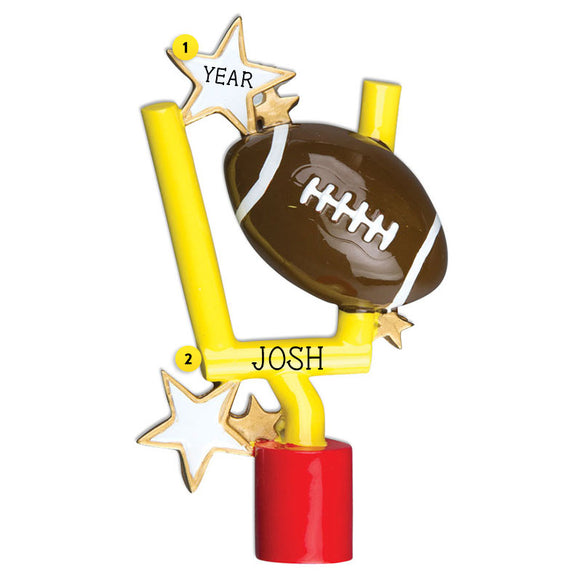 Football Goal Post Ornament