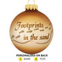 Footprints Ornament