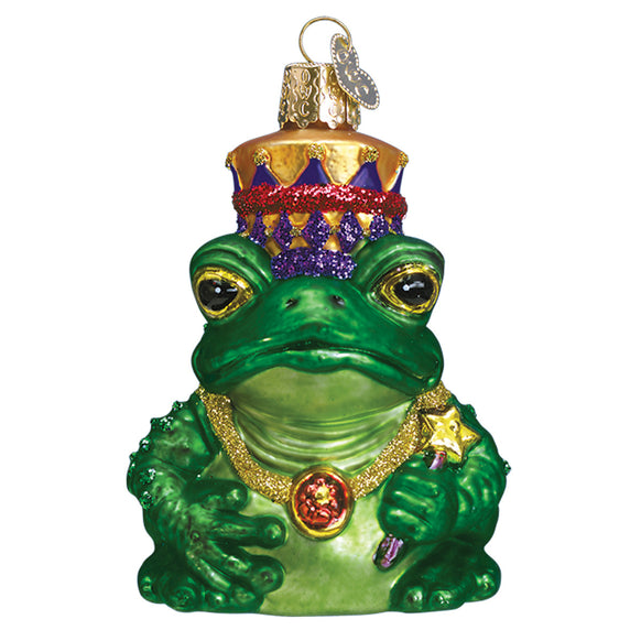Frog King Ornament for Christmas Tree