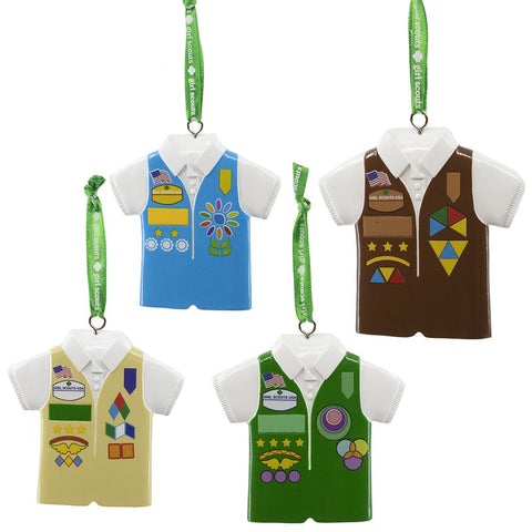 Girl Scouts Vest Ornament