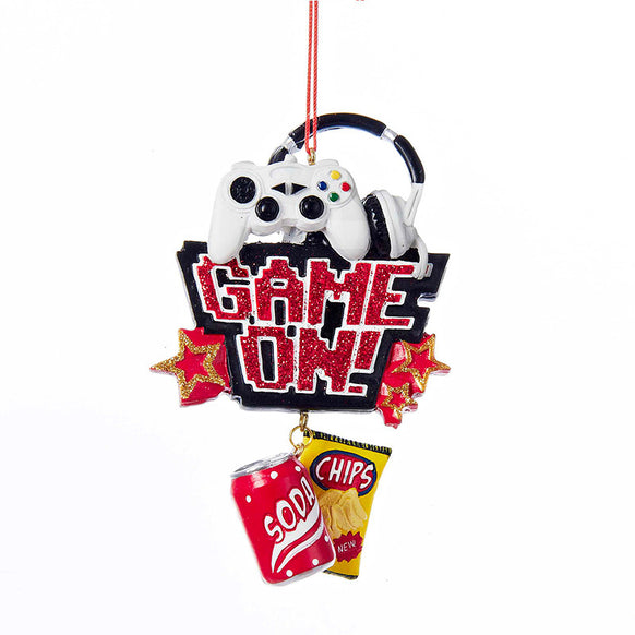 Game On! Ornament for Christmas Tree