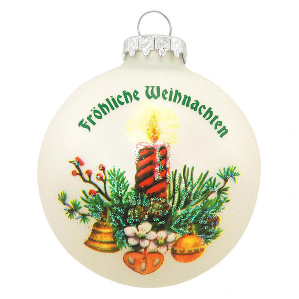 German Customs Ornament for Christmas Tree
