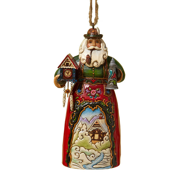 German Santa Ornament for Christmas Tree