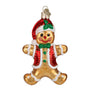 Gingerbread Boy Ornament for Christmas Tree