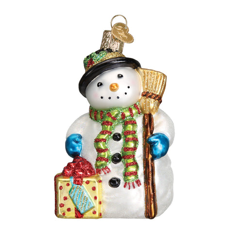 Gleeful Snowman Ornament for Christmas Tree