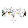 Godmother Cross Ornament for Christmas Tree
