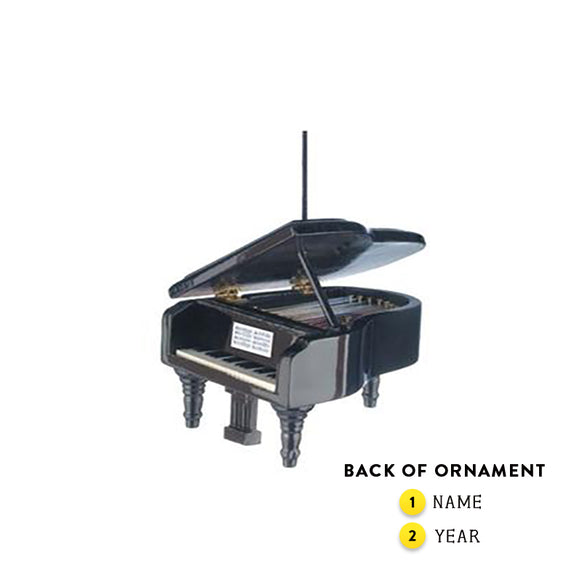 Grand Piano Ornament