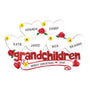 Grandchildren with 6 Hearts Table Top Decoration