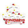 Grandchildren Ornament with 8 Hearts for Christmas Tree