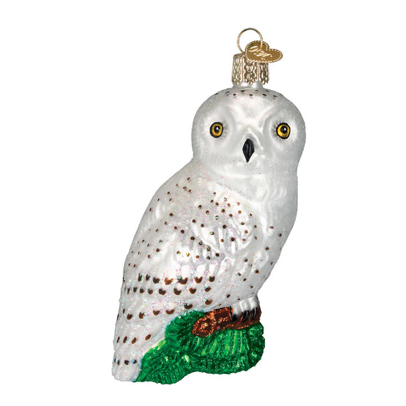 Great White Owl Ornament for Christmas Tree